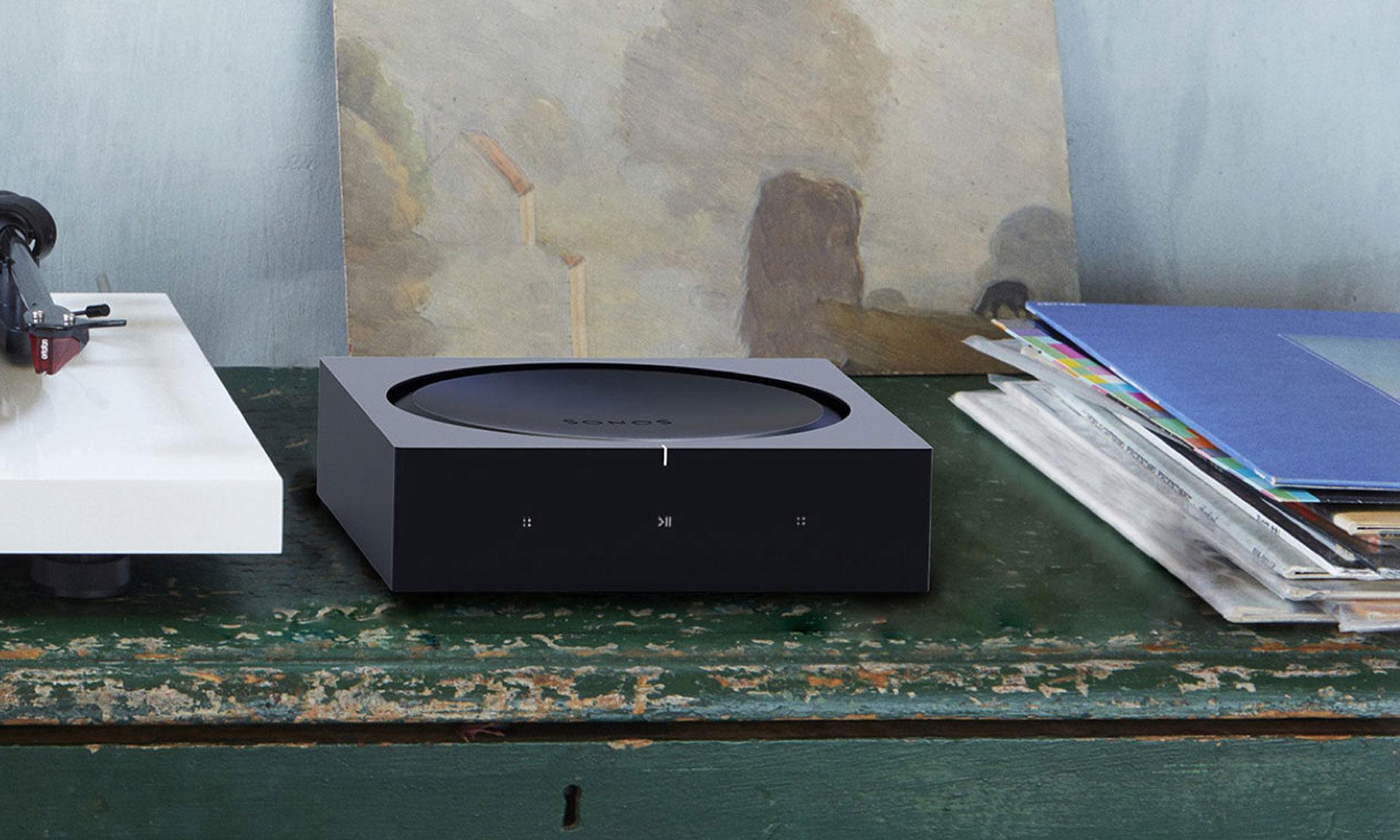 Il nuovo Amp Sonos. L'amplificatore versatile per alimentare il tuo intrattenimento