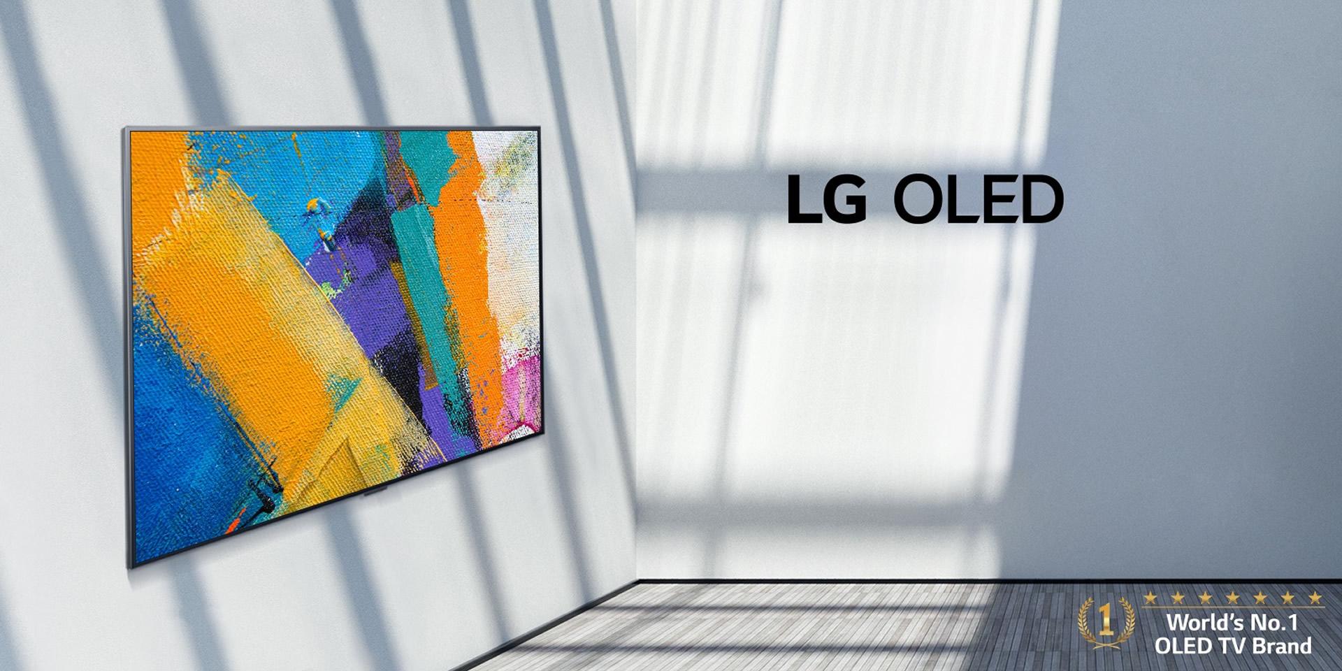 Una TV che si trasforma in un'opera d'arte appesa
